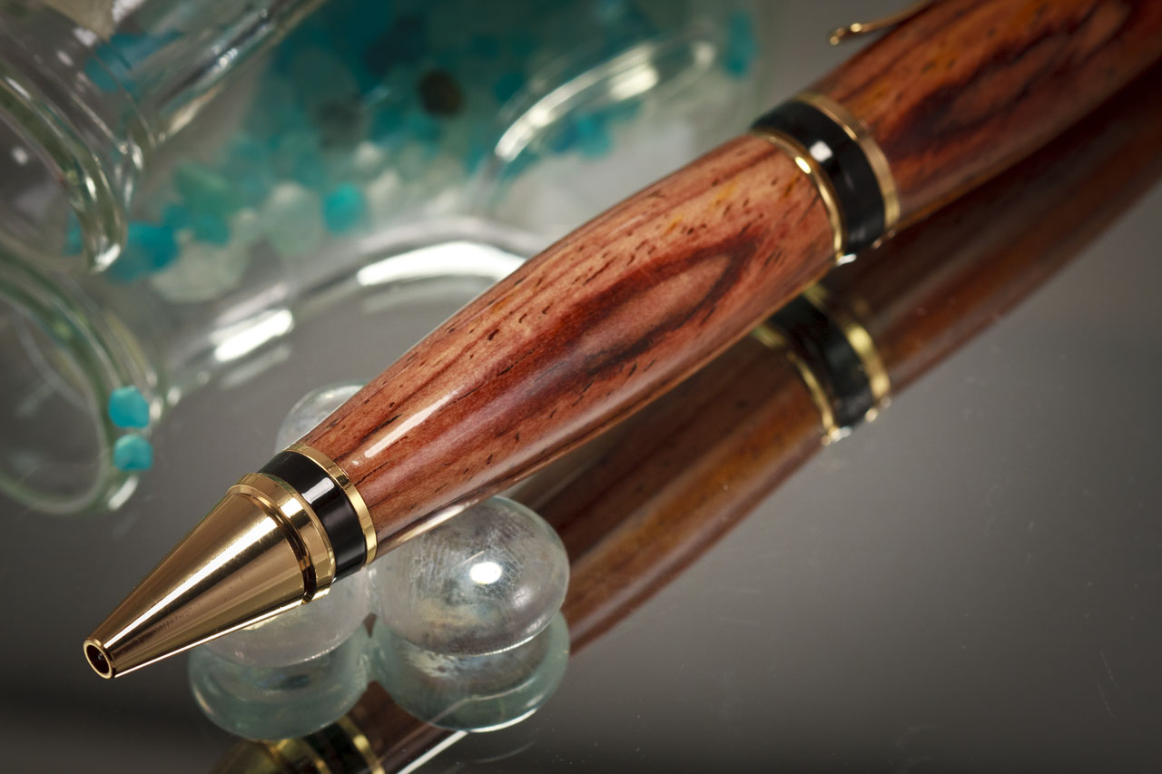 Example Cocobolo Wood Pen